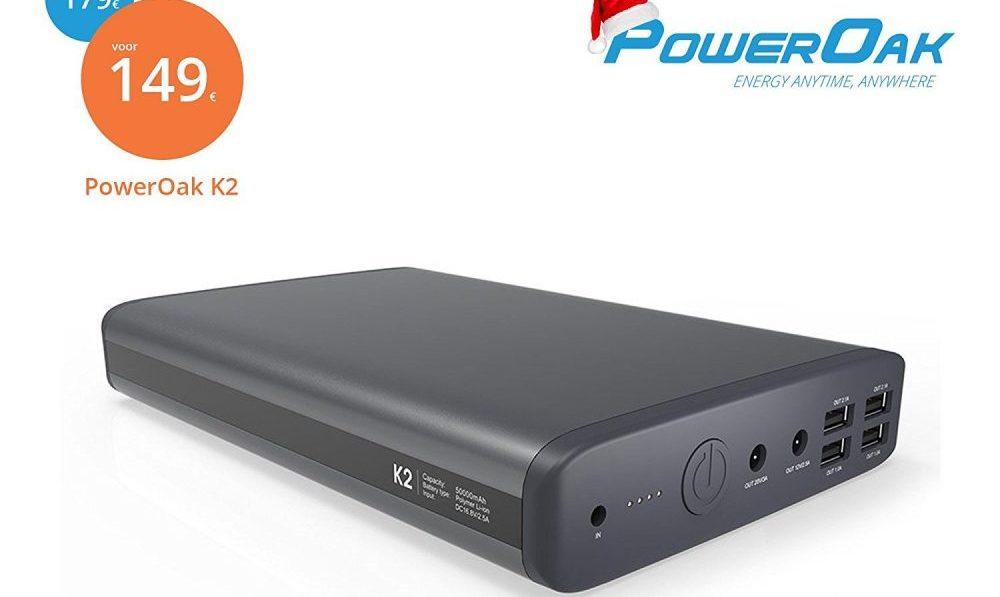 Gewinnt eine Laptop Powerbank - PowerOak K2