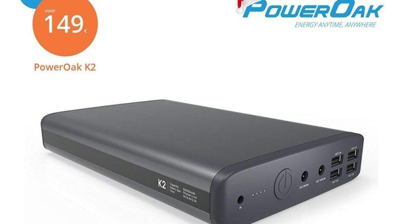 Gewinnspiel PowerOak K2 Giveaway Powerbank Laptop Gaming