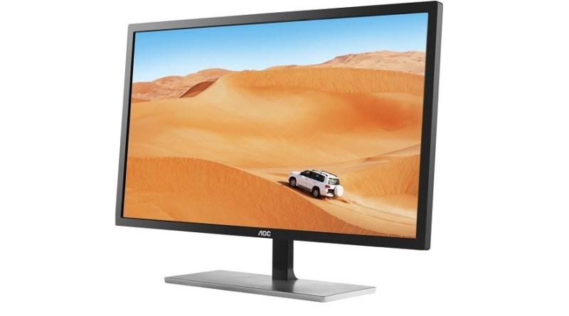 AOC Q3279VWF Monior Bildschirm Test Kritik Review Titel