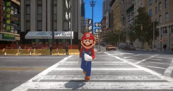 Super Mario Odyssey Mod Grand Theft Auto-GamersRD