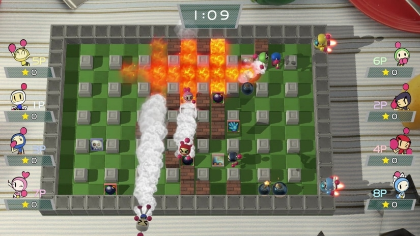 Mira aquí 14 minutos de Gameplay de Super Bomberman R