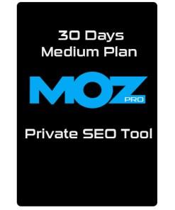 Moz Pro Medium Plan