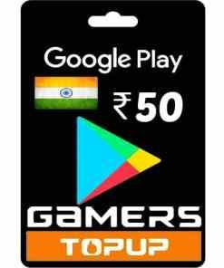 google play 50 Rupee