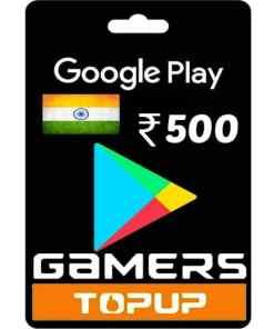 300 Rupee Google Play Gift Card