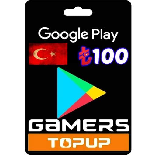 Google Play Gift Card Turkey