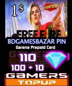 Bdgamesbazar pin 1 usd