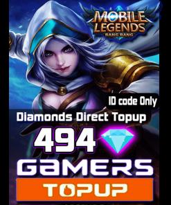 Mobile Legends 494 Diamonds