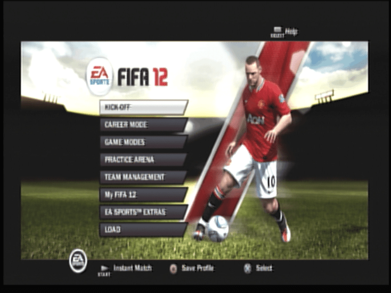 FIFA 12 [PS2] - Screenshot - Main Menu