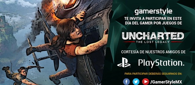 Día del gamer: gana un Uncharted: The Lost Legacy cortesía PlayStation