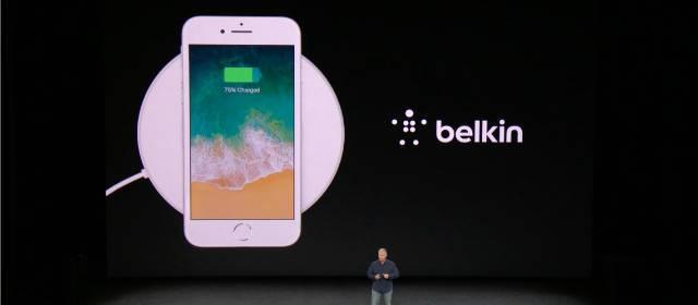 Nueva base de carga inalámbrica BoostUp para iPhone 8 de Belkin