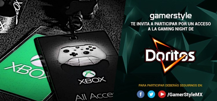 Gamer Style te invita a la Gaming Night de Doritos