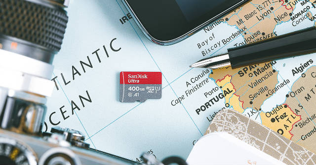 Western Digital presenta una tarjeta SD de 400 GB
