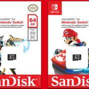 Algunos juegos de Switch requerirán de una MicroSD para accesar a todo su contenido