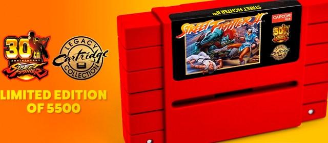 Street Fighter 2 regresa en forma de cartucho para Super Nintendo