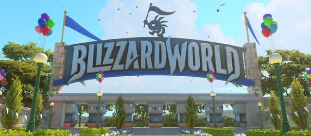 Blizzard World el nuevo mapa de Overwatch ya disponible