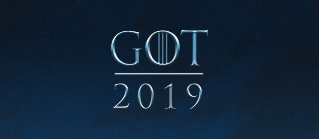 La temporada 8 de Game of Thrones llegará en 2019