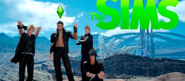 Los Sims llegarán a Final Fantasy XV: Windows Edition