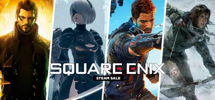 Square Enix rebaja hasta 80% los precios de sus títulos en Steam