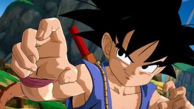 Dragon Ball FighterZ DLC Character Kid Goku GT Screen 1