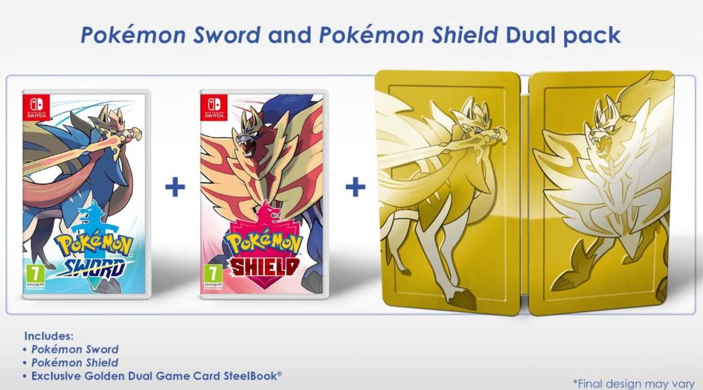 Pokemon Shield and Sword - Dual Pack