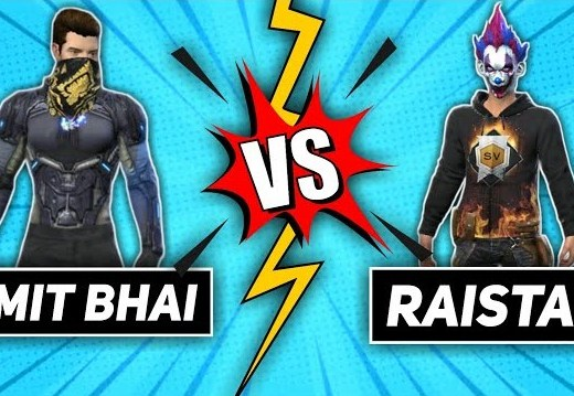 Desi Gamers vs Raistar- Who Has Better Stats In Free Fire?