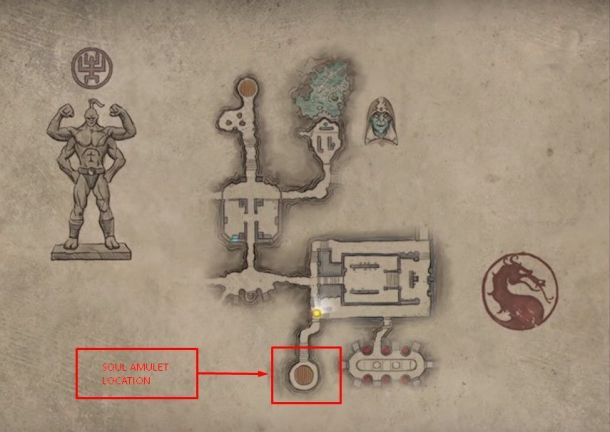 AMULET-LOCATION Mortal Kombat 11: Krypt details, Unlockables and locations guide