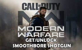 Call of duty modern warfare smoothbore