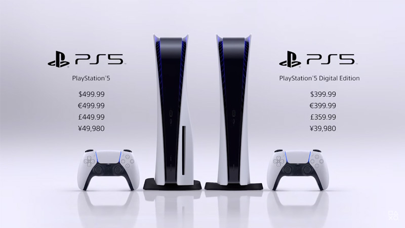 playstation 5 price