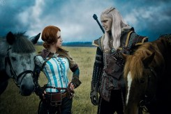 the_witcher_2_cosplay___geralt_of_rivia__triss_2_by_greatqueenlina-d6zgrk1