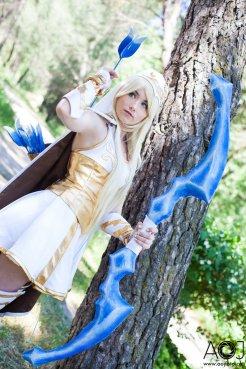 Ashe cosplay LOL (1)