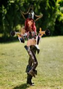 Miss Fortune League of Legends cosplay (2)