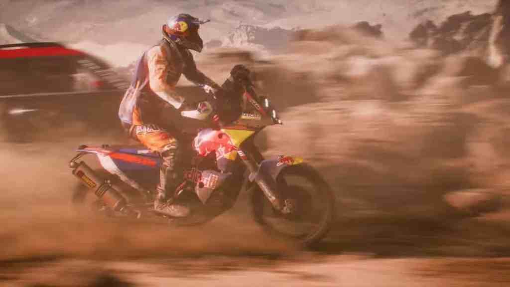 Dakar 18 Screen