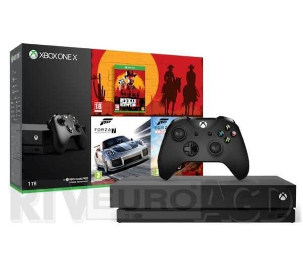 Microsoft Xbox One X Forza Horizon 4 Forza Motosport 7 Red Dead Redemption Ii,35771367801 3