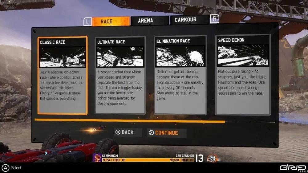 Grip Combat Racing Screen1