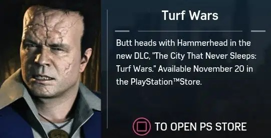 Turf Wars Dlc