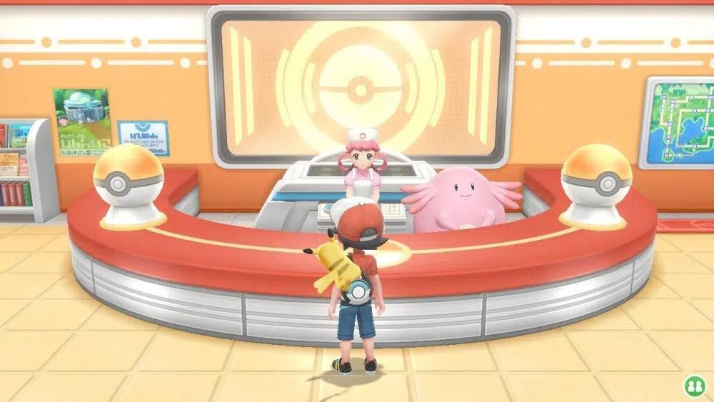 Pokémon Let's Go Screen4