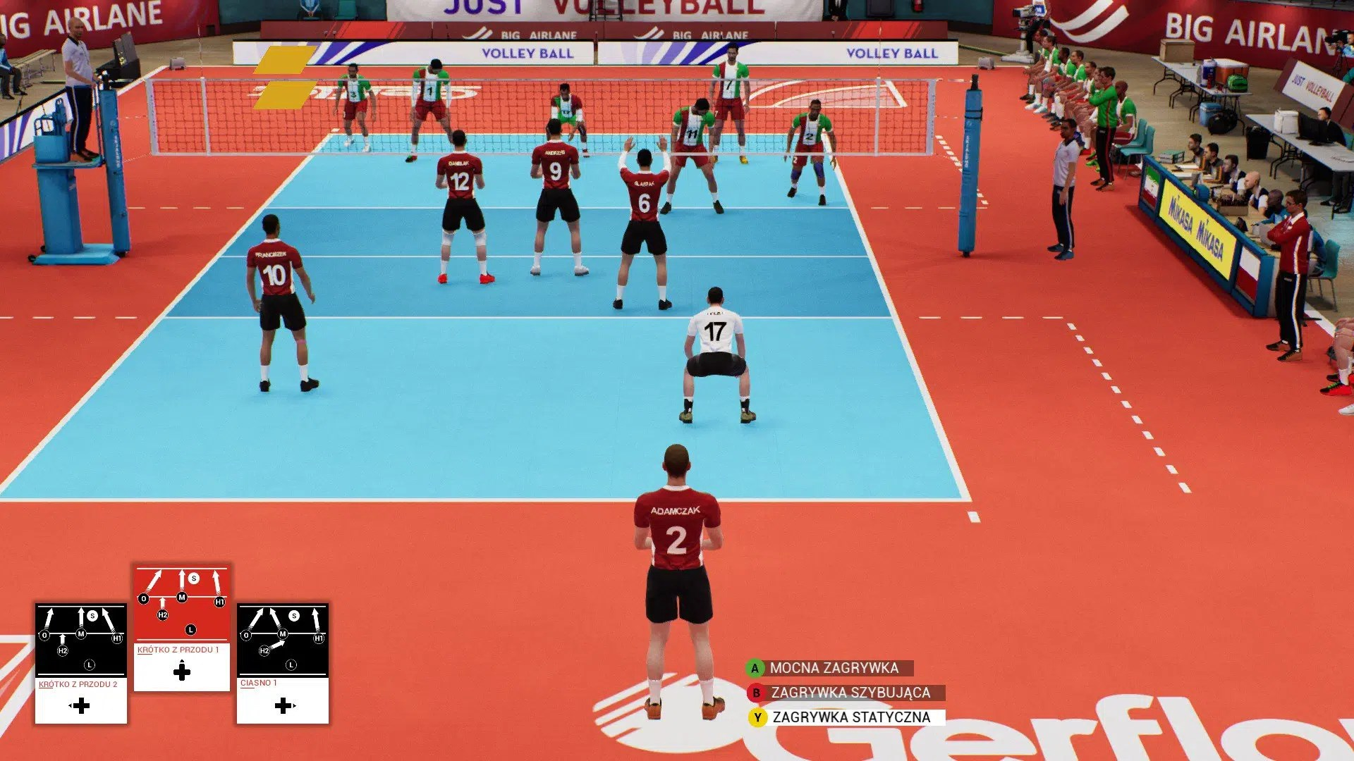Spike Volleyball Screen (4)