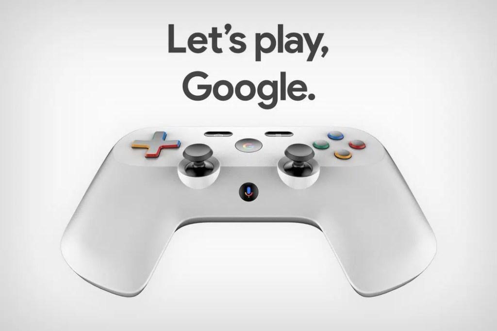 Pad Do Konsoli Google