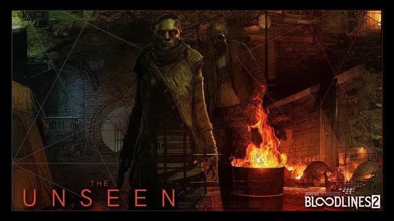 Vampire The Masquerade Bloodlines 2 Unseen