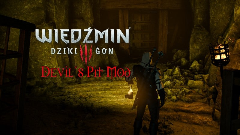 Zaułek Z Modami Wiedźmin 3 Diabli Dół Devils Pit Mod