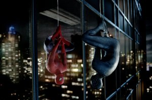 Spider-Man contemplates his darker self in Columbia Pictures' SPIDER-MAN 3.