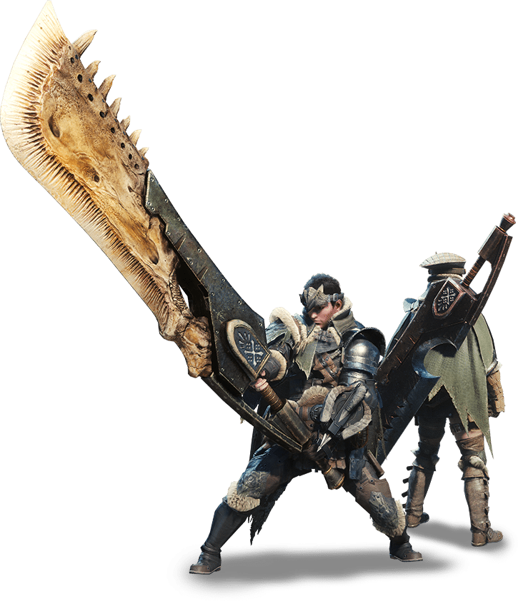 Armas en Monster Hunter World