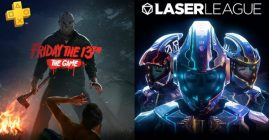 Laser League y Friday the 13th son los de PS Plus de octubre 2018