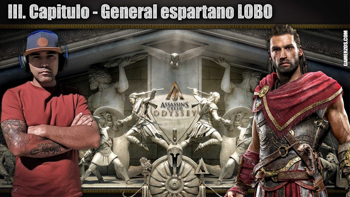 Assassins Creed Odyssey General espartano LOBO III Directo