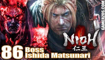 Nioh gameplay PS4 español Boss Ishida Matsunari