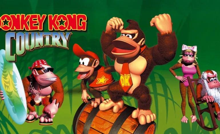 Donkey Kong Country is Coming to Nintendo Switch Online