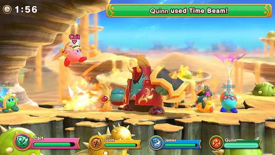 Super Kirby Clash - игры nintendo switch