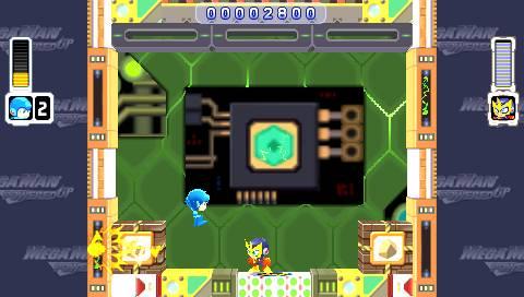 Mega Man Powered Up Screenshot