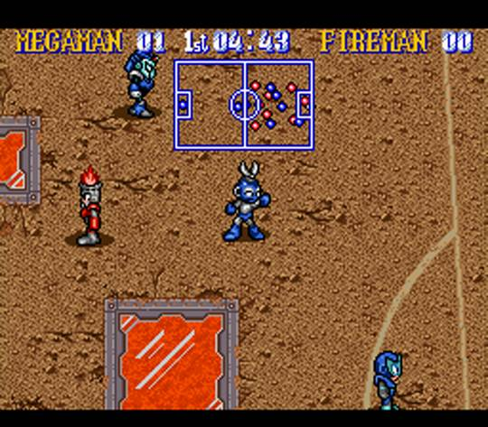 Mega Man Soccer Screenshot2