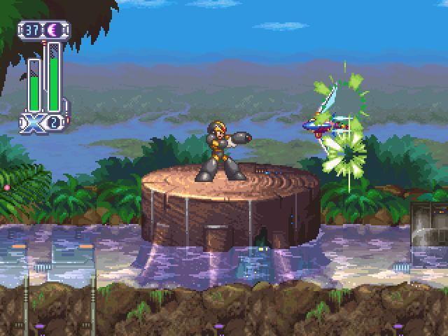 Mega Man X 4 Screenshot